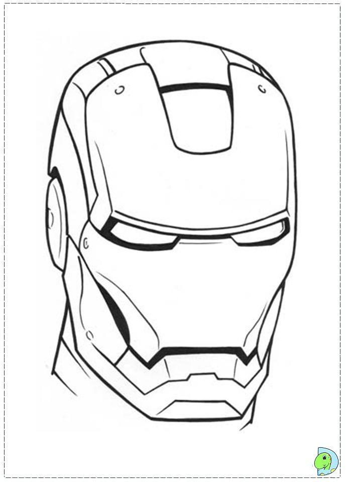 Iron Man Coloring Page Iron Man Drawing Iron Man Face Iron Man Helmet