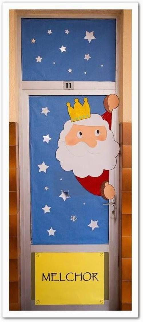 Ideas para decorar puertas escolares en navidad navidad for Puertas decoradas enero