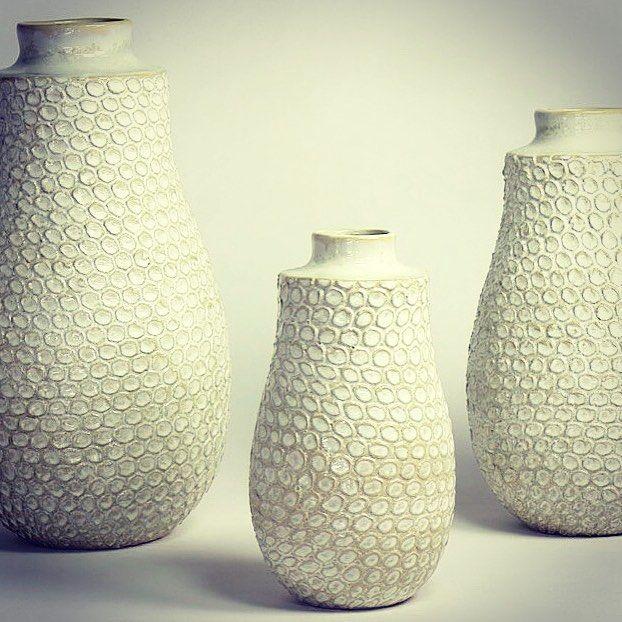 Craig Anczelowitz On Instagram New Textured Ceramic Vases