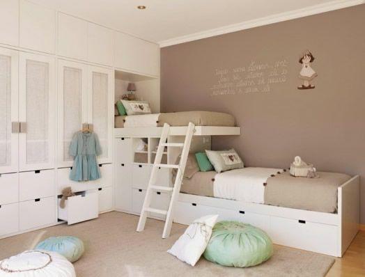 Wandfarbe für Kinderzimmer Grün und Beige Kombinieren | Kinder ... | {Wandfarbe kinderzimmer 30}
