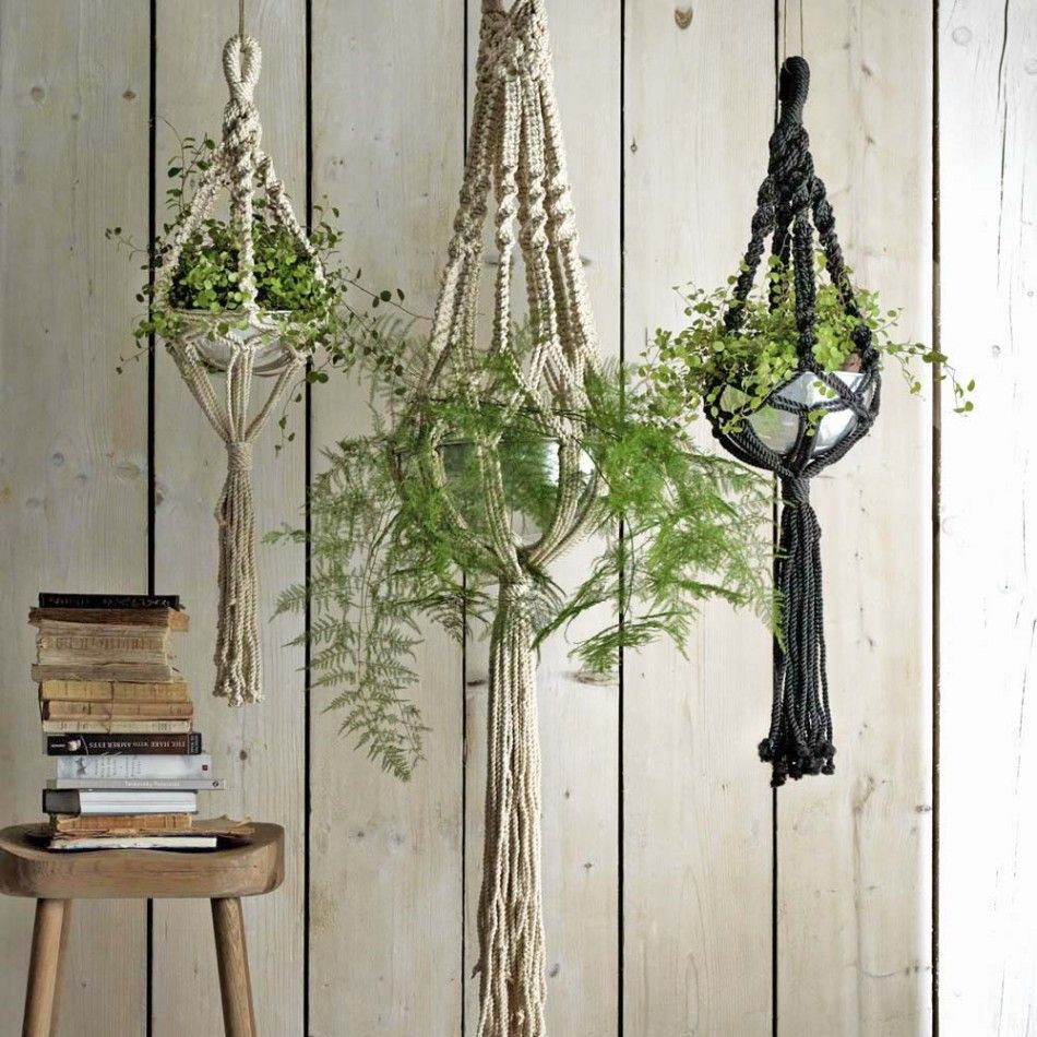 Macrame Plant Hangers - Decorative - Home Accessories ...