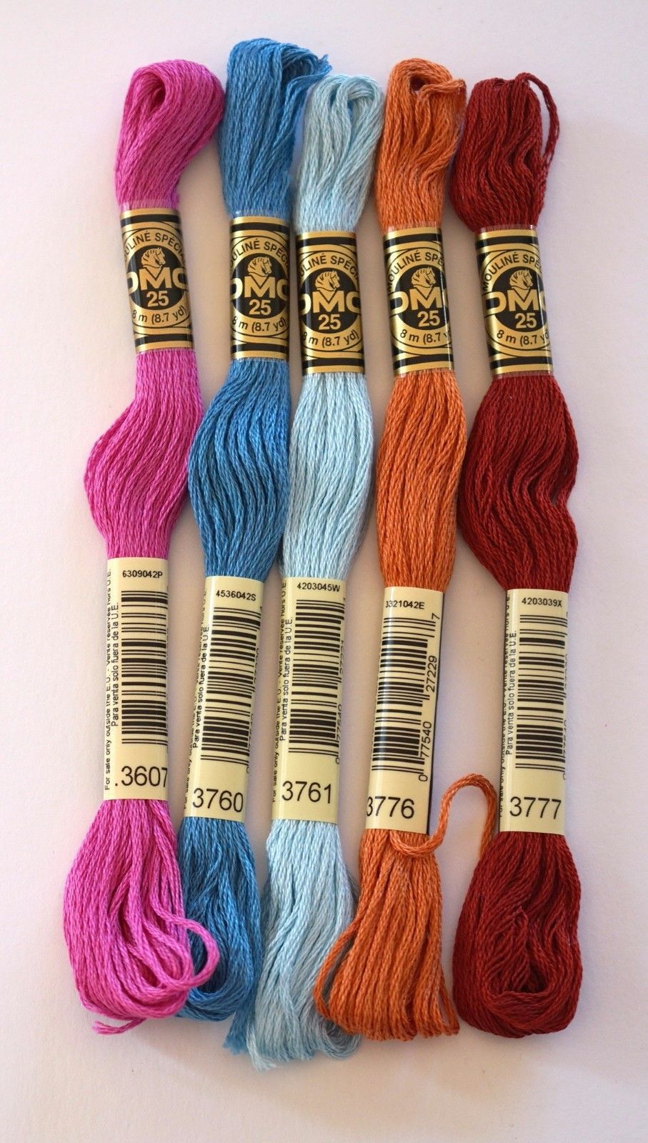 DMC Tapestry Wools Pack of 10 Colours of your choice