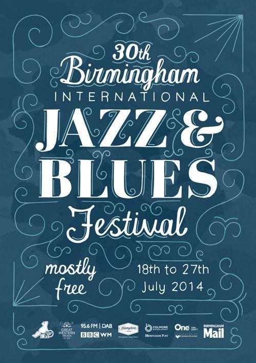 Birmingham Jazz & Blues Festival Poster