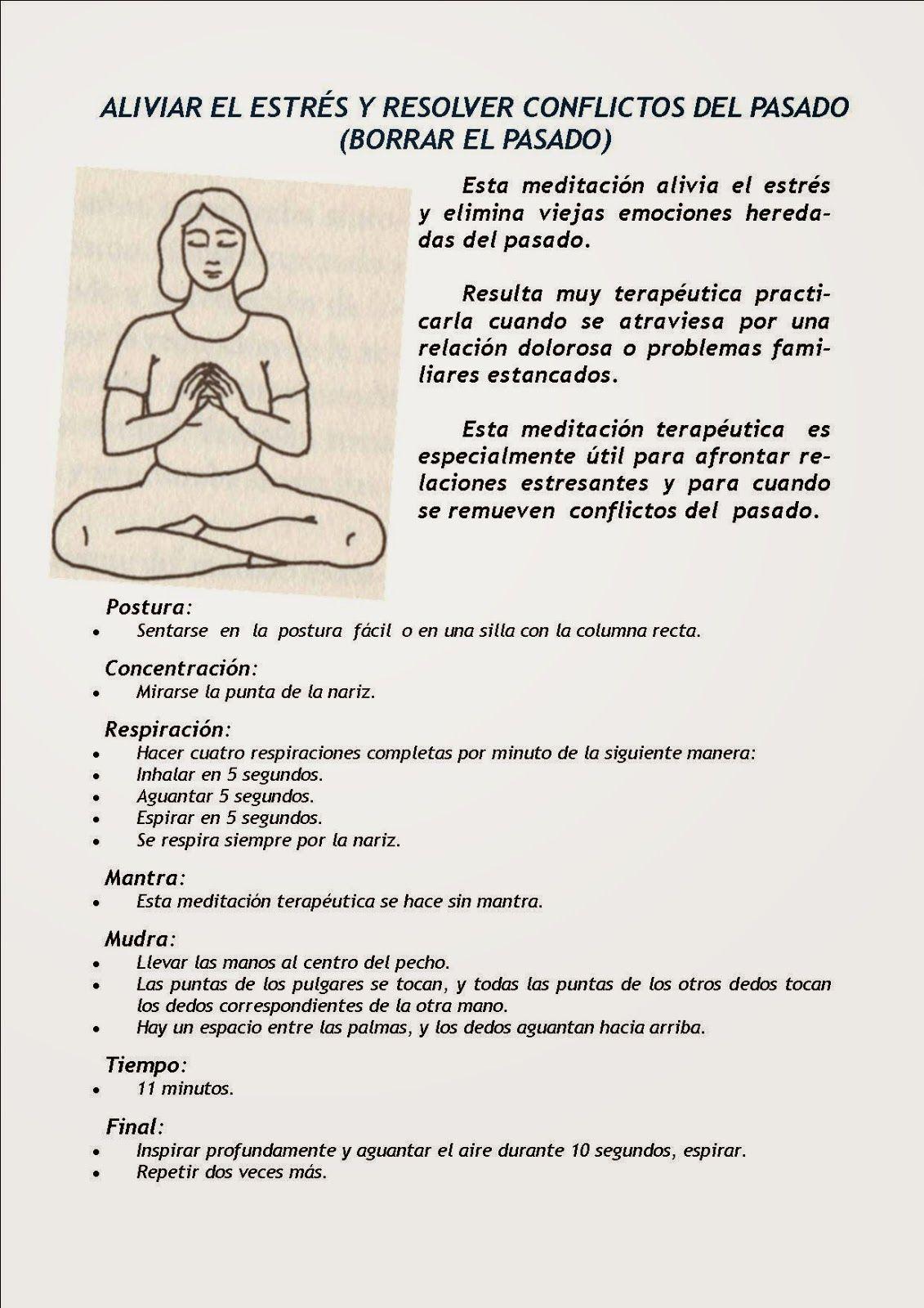 Ejercicios para meditar en casa