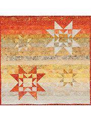 Beginner Quilt Patterns - Salsa Stars Quilt Pattern