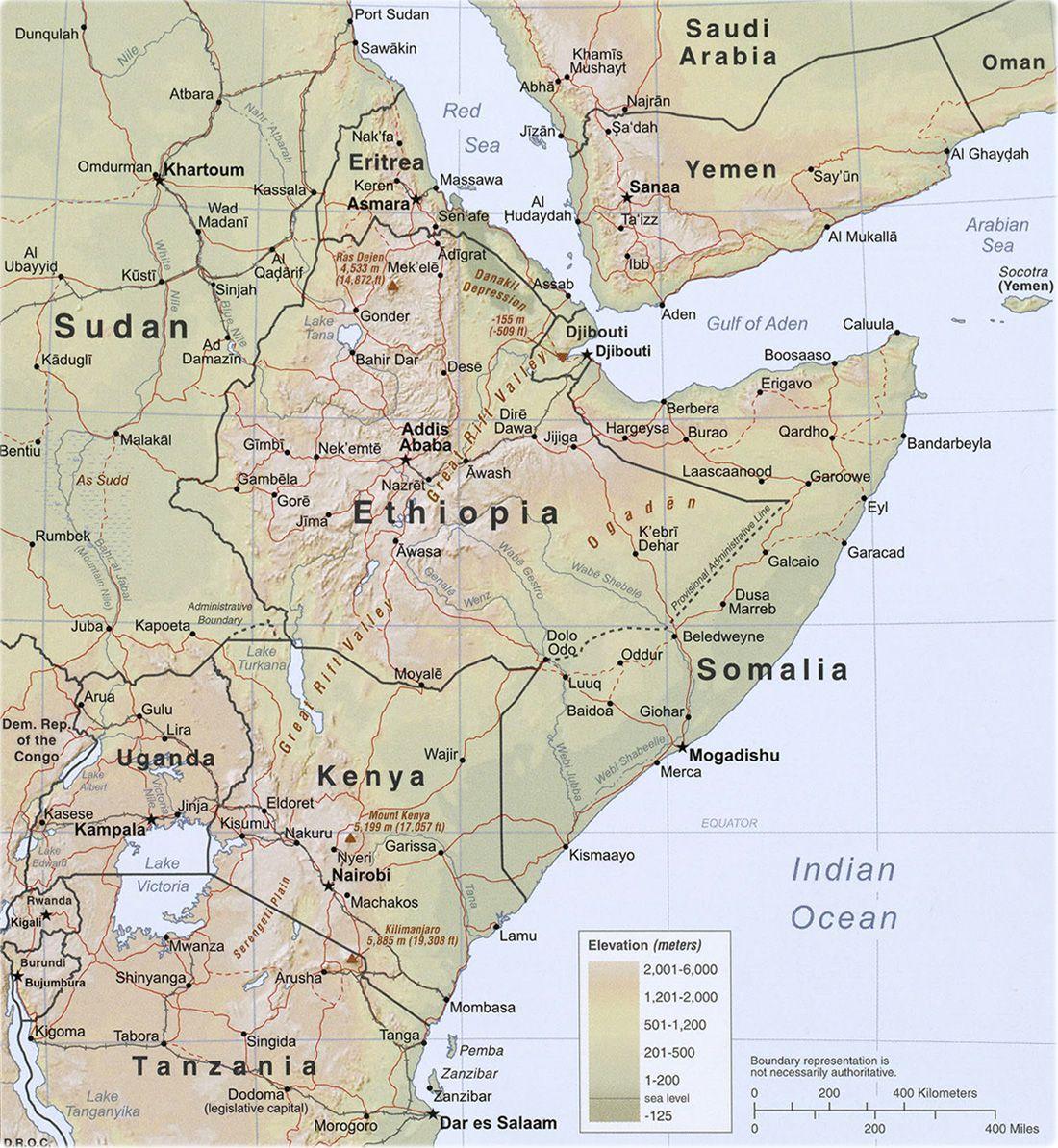 Horn africa mapg 11001194 carte de la corne de lafrique horn africa mapg 11001194 gumiabroncs Images
