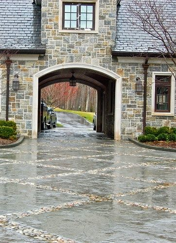 Favorite architectural feature: Porte cochere from Things ...