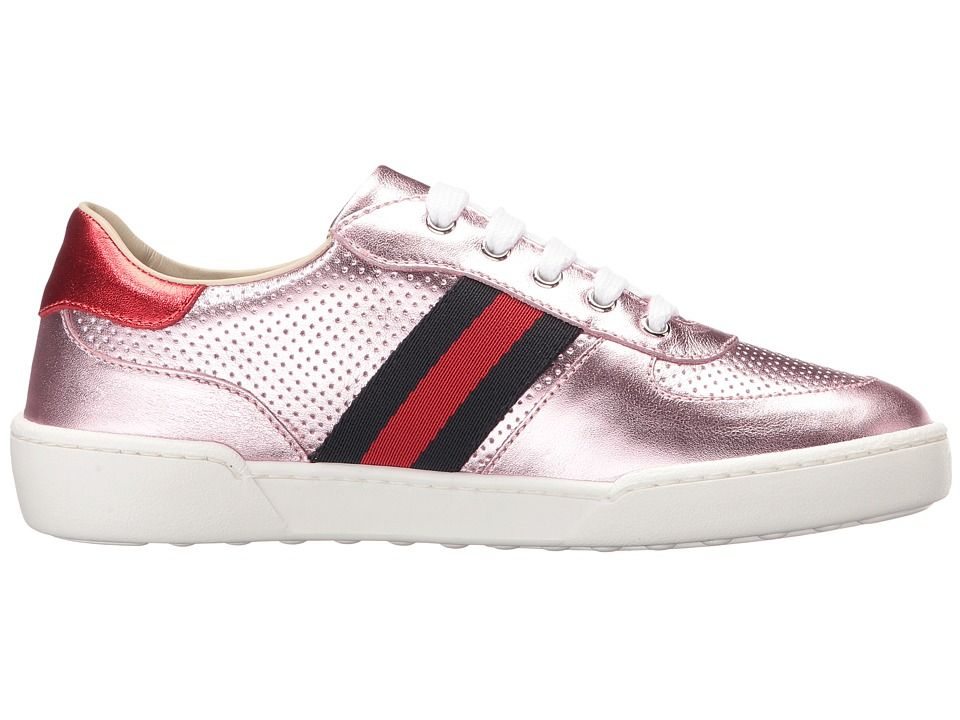 3bc6ce8d76011 Gucci Kids Willy Sneakers (Little Kid) Girls Shoes Pink