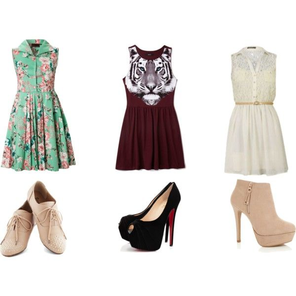 Fall Dresses Shoes Polyvore