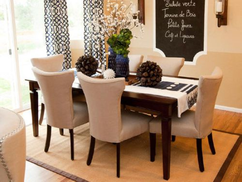 Suede Upholstered Dining Room Chairs With Dark Wood Legs