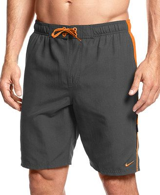 284129b3ab Nike Big and Tall Core Contend Volley Swim Trunks   Men casual ...