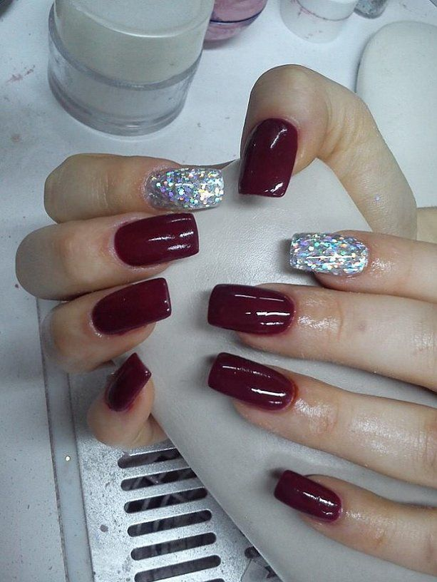 Attractive Acrylic Nail Polish Design for Girls | nails | Pinterest