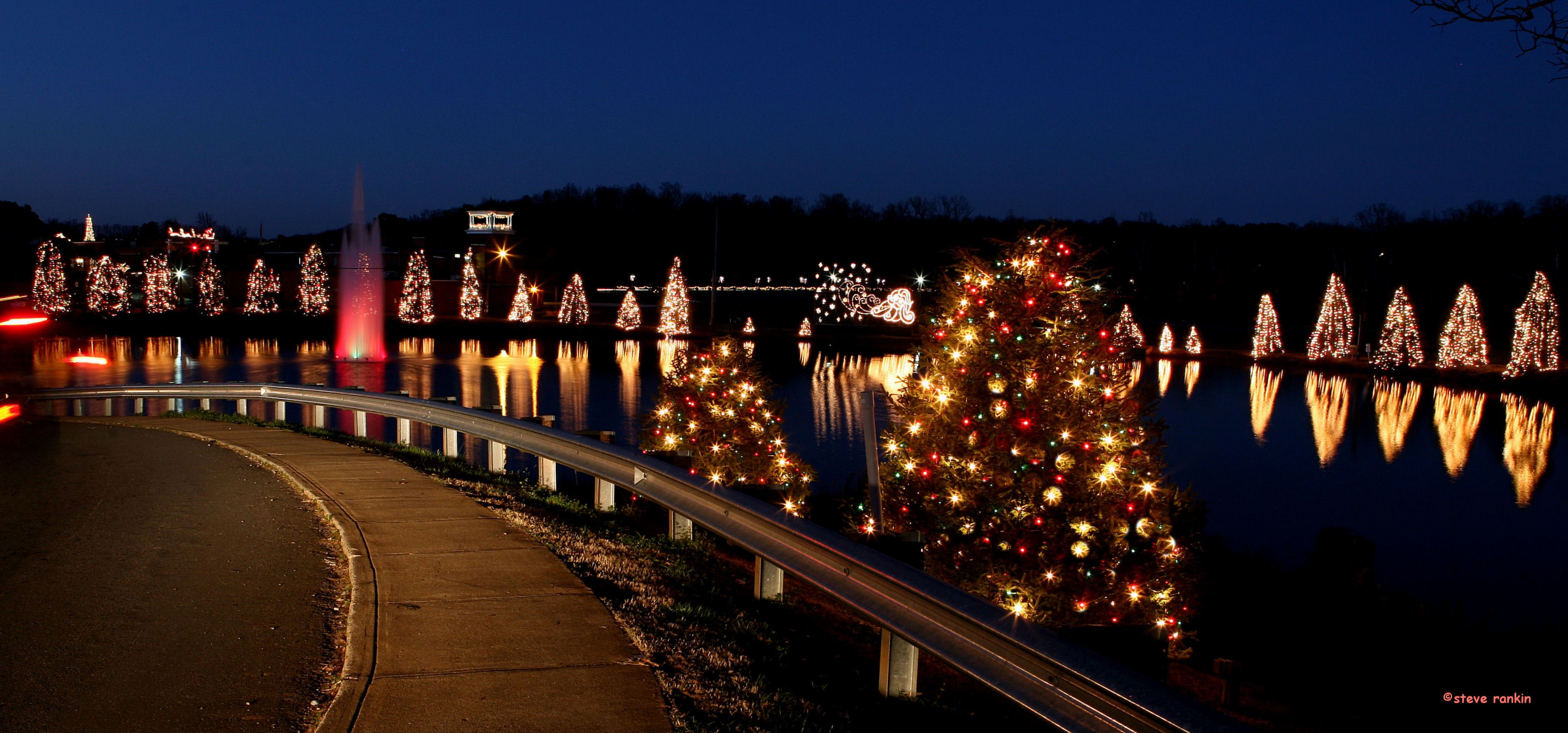 mcadenville north carolina is christmastown usa - Christmas Town North Carolina