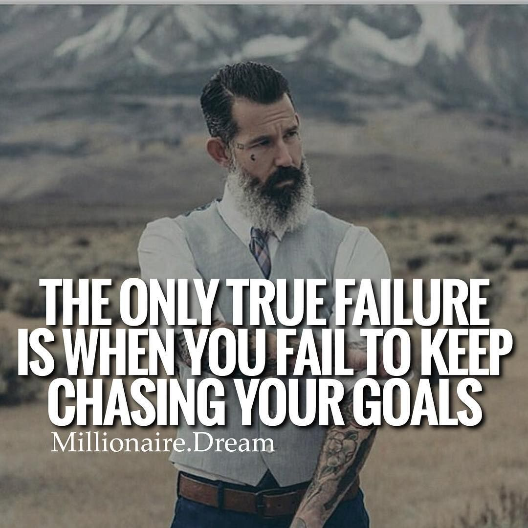 If you keep hustling and keep working towards your goals then you won't fail in the long run. Yes you'll get set backs but the only true failure is when you fail to keep trying! Via @thinksmartgrowrich