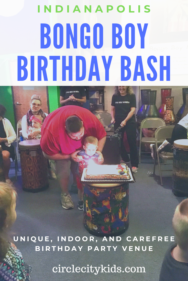 Looking For A Place To Host A Unique Indoor And Carefree Birthday Party In Indy Bongo Boy Music School Has Boy Birthday Kids Adventure Birthday Party Venues