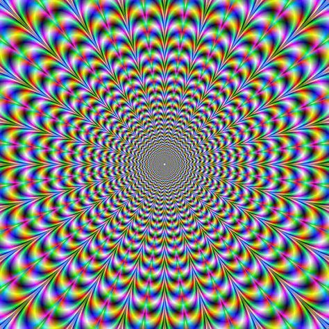 Rainbow Vortex | 13 Psychological Mind Tricks That Will Mess With Your Head