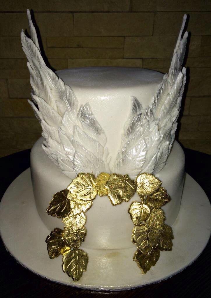 Angel Wing Birthday Cake Birthday Cakes For Ladies
