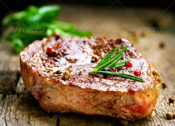 Grilled Steak  -  photodune.net