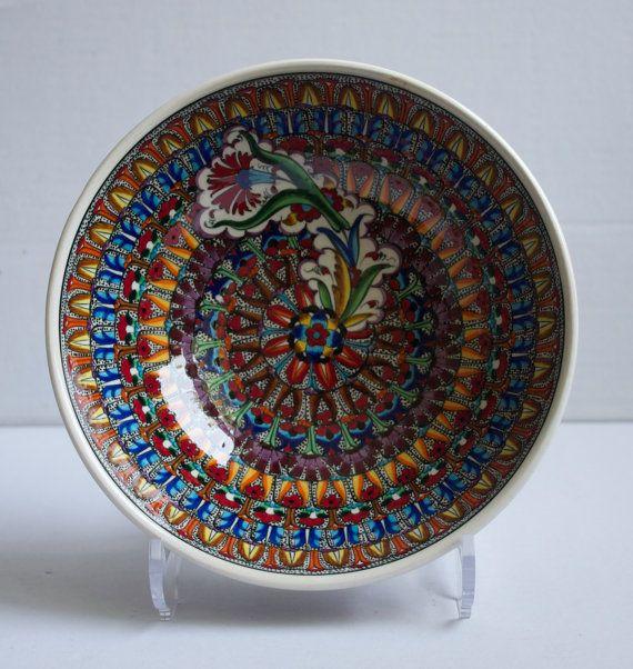 Family Design Hand Made Ceramic Bowl Decorative Bowl by ChezGalip