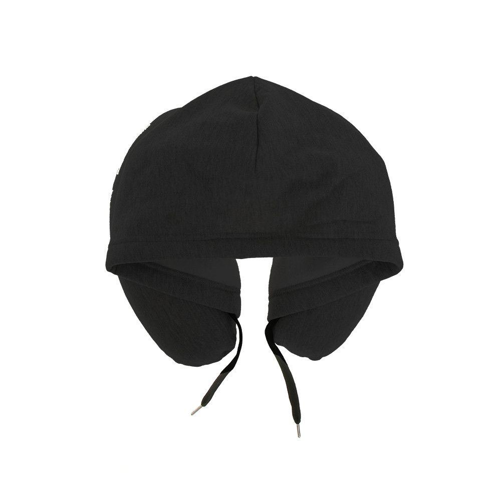 Hoodie pillow black globitetravel hoodie pillow black