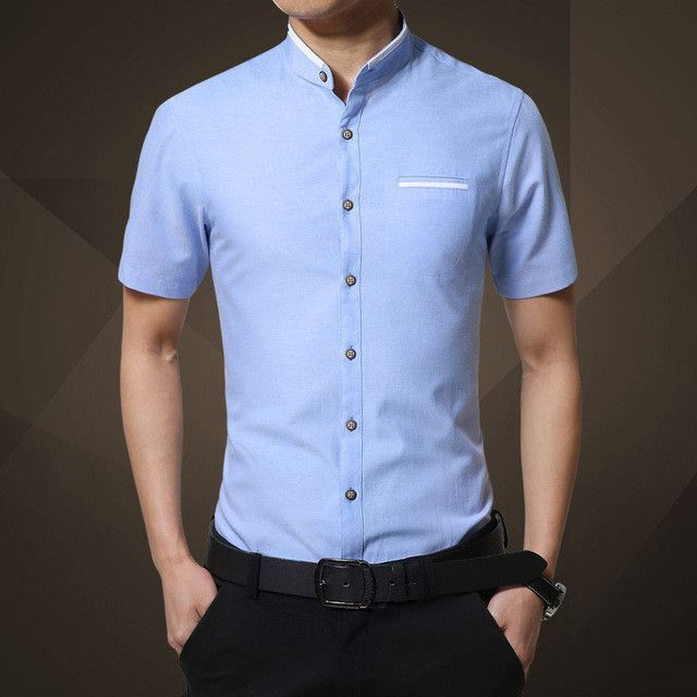 Fashion Brand Clothing Mens Short Sleeve Shirt 2017 Summer New ...