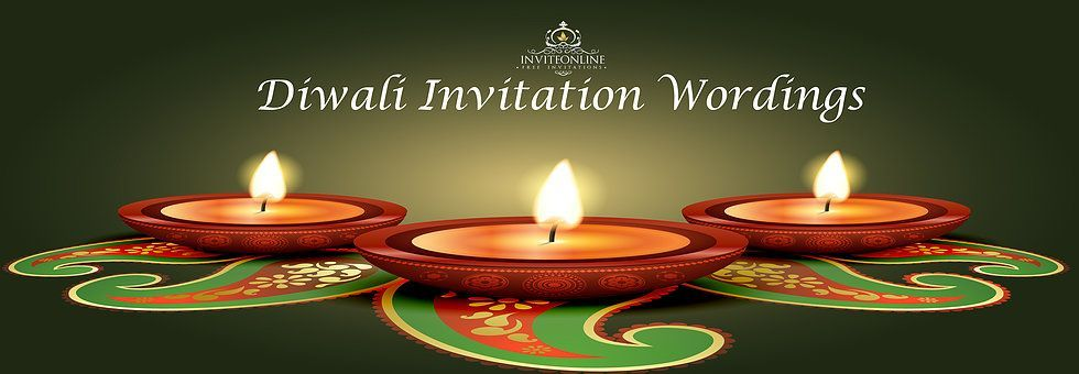 diwali invitation wordings Free Diwali Invitation Cards And - invitation wording for candle party