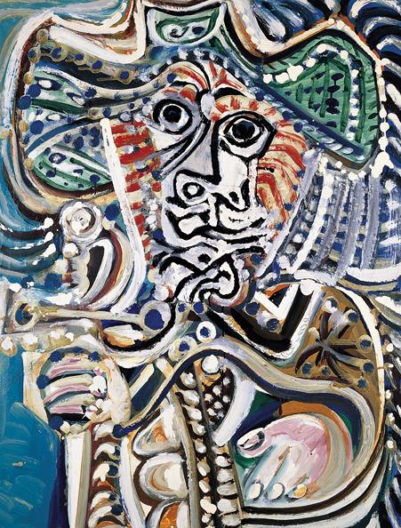 Mosquetero con espada de Pablo Picasso en el Museo Picasso de Málaga.    Arte de picasso, Museo picasso, Picasso retratos