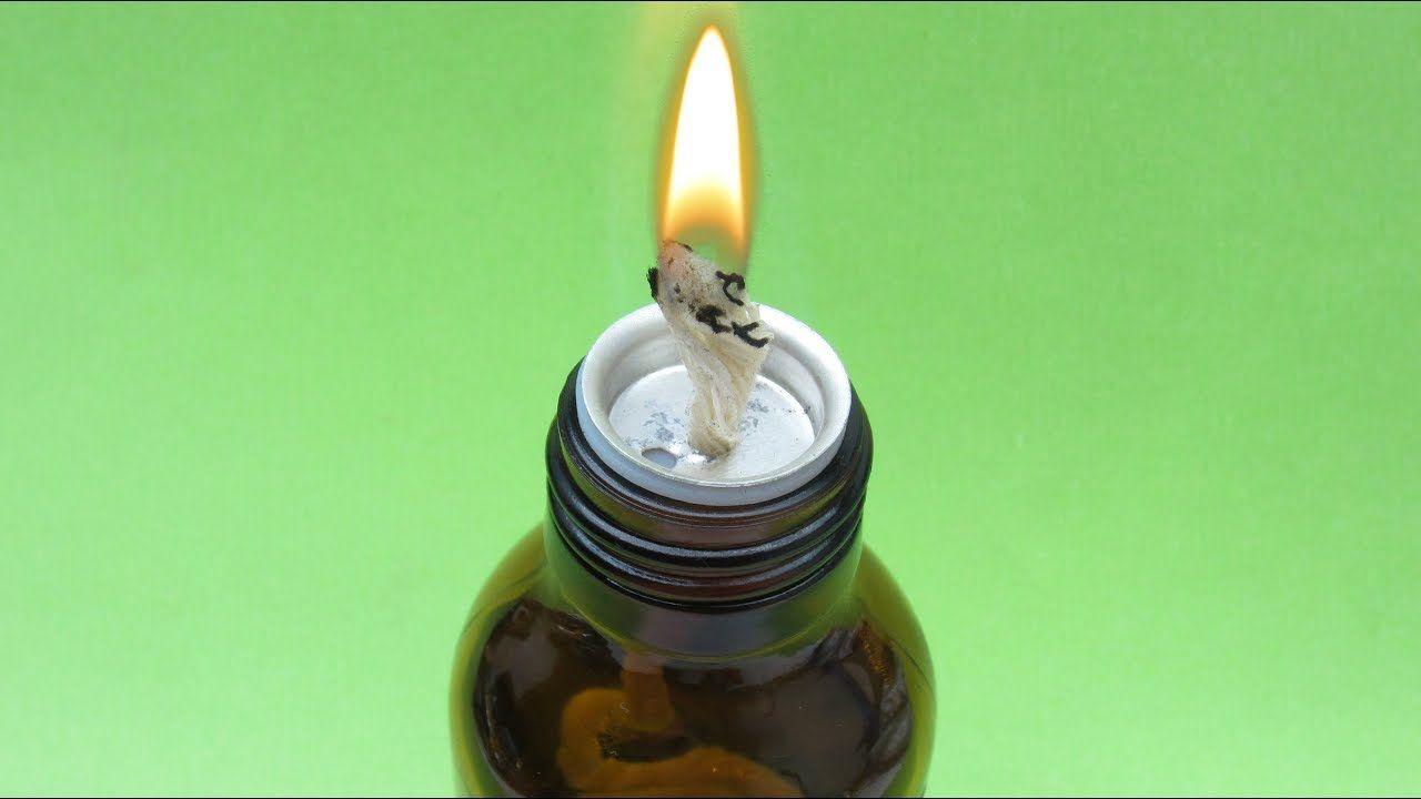 Brilliant ideas (DIY Alcohol Lamp) Alcohol lamp, Diy