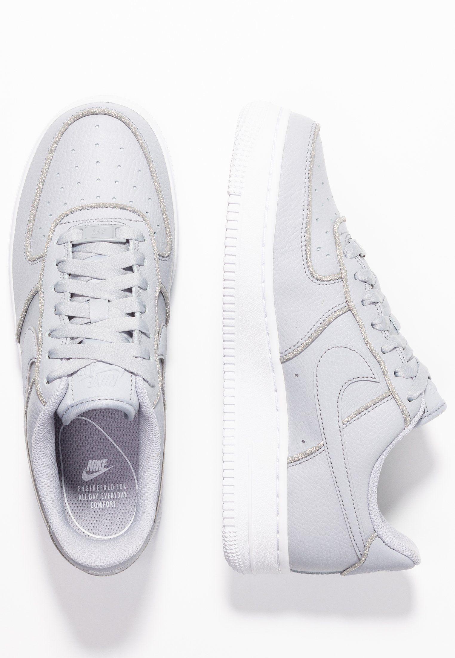 new concept e9507 a962e Nike Sportswear AIR FORCE 1 - Joggesko - wolf grey pure platinum white -