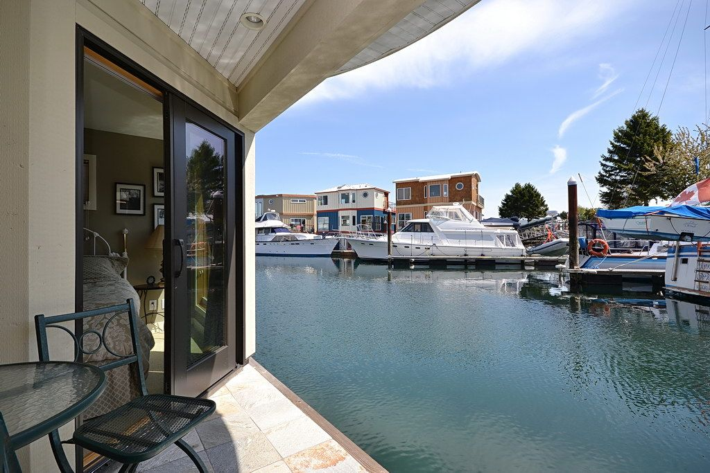 Watch The Boats Go By This Floating Home For Sale In Victoria Bc