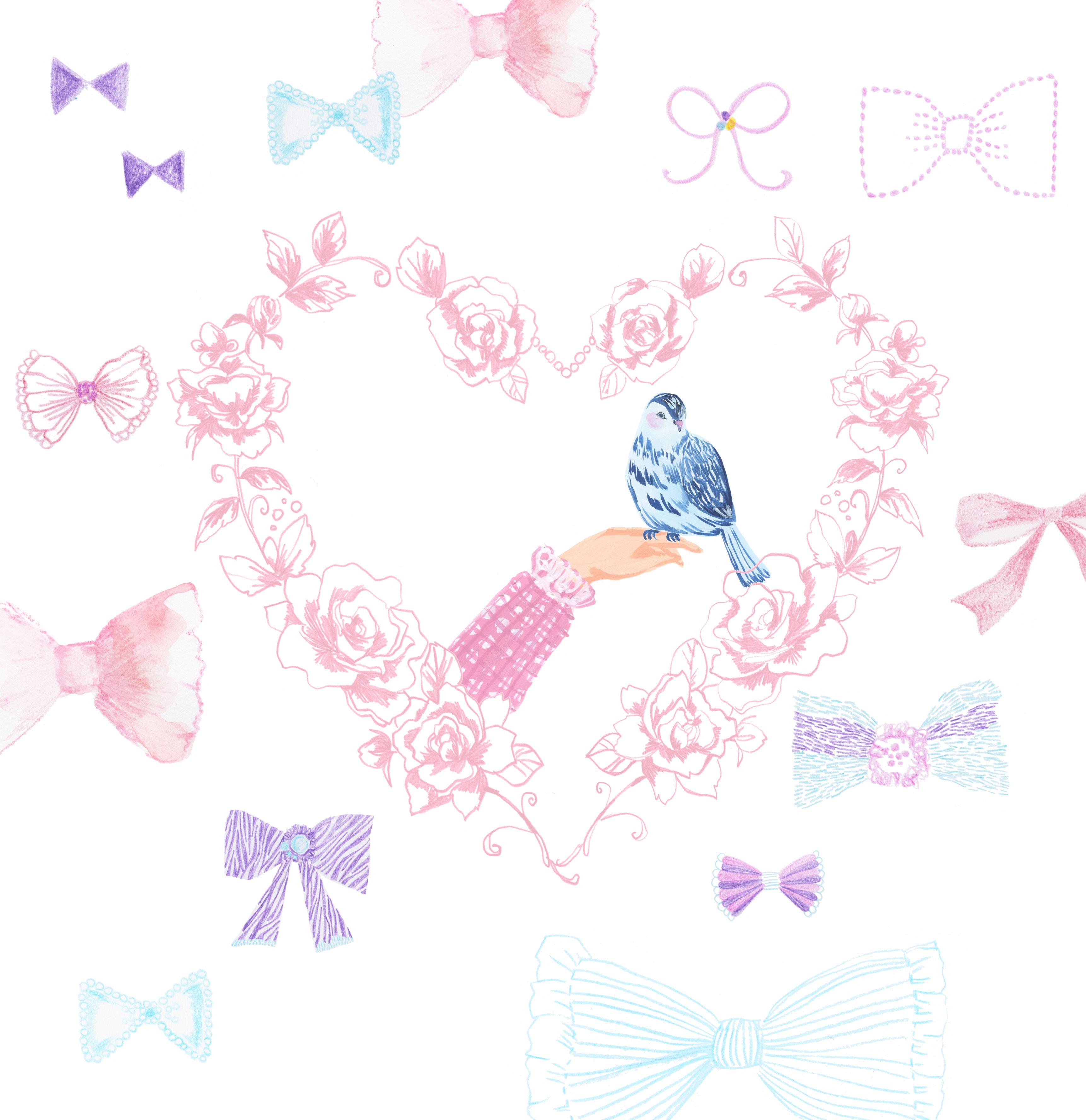 animal #frame #枠 #動物 #広告 #花 #flower #デザイン #お洒落