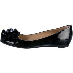 Pre-owned - Black Leather Ballet flats Valentino OsZs5Vfc3
