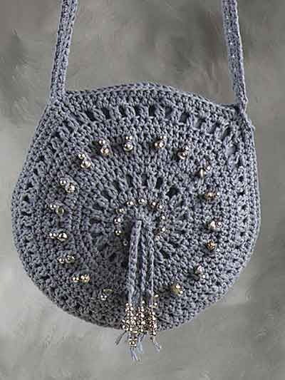 Silk lace crochet bag pattern crochet purses crochet and lace bag crochet bag free crochet pattern ccuart Image collections