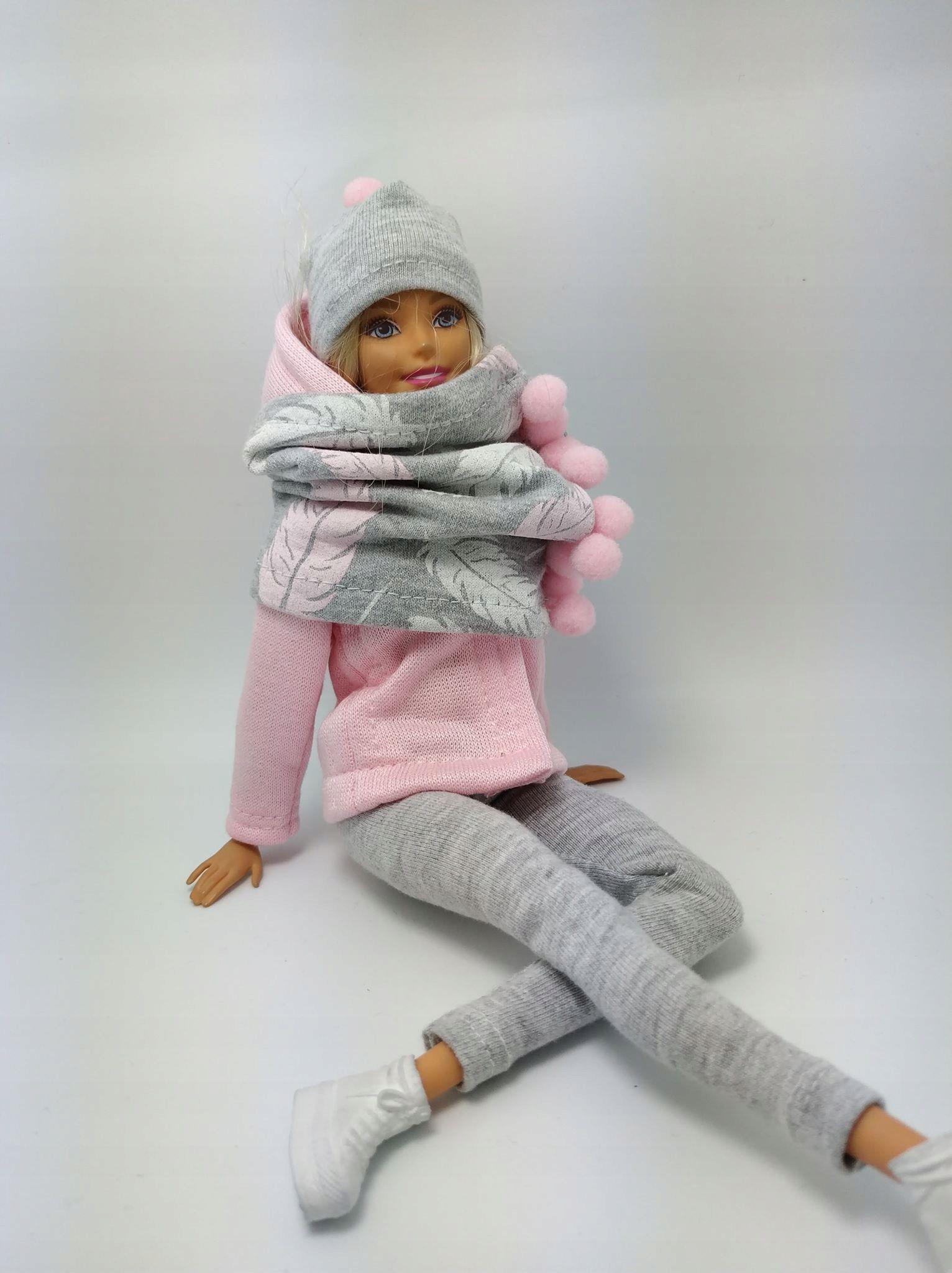 Ubranka Dla Lalki Typu Barbie Zestaw Ubranka 7882337776 Oficjalne Archiwum Allegro Barbie Fashion Dolls Fashion