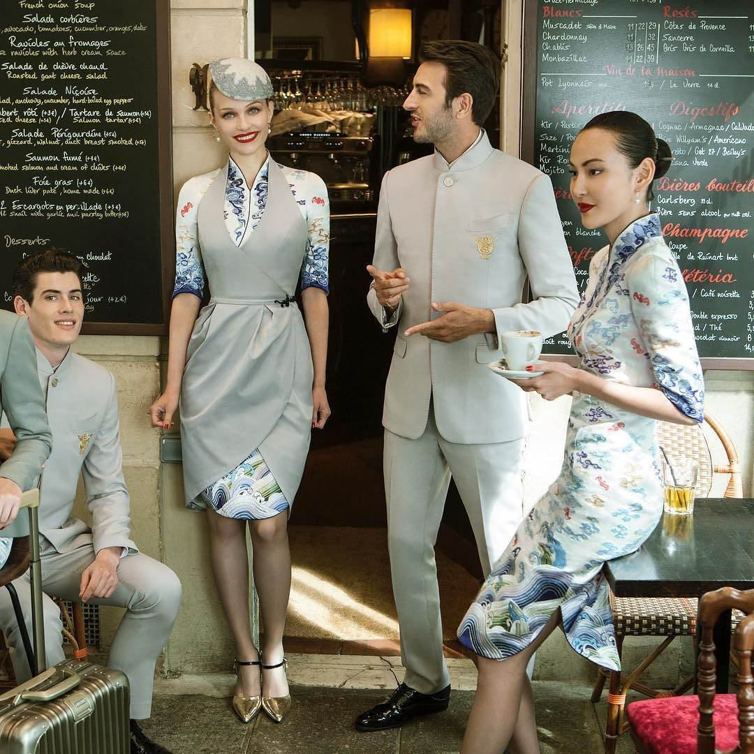 With The New Xu Paris Couture Uniforms, Hainan Airlines