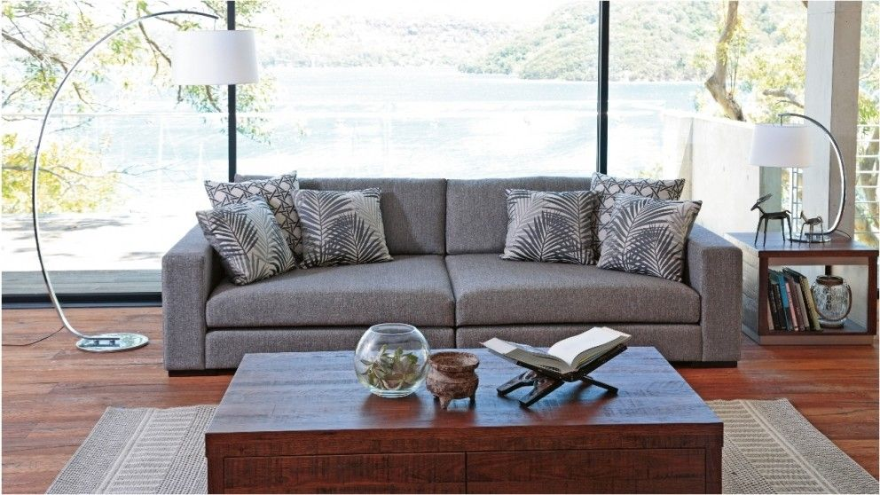 Janko Oversize 3 Seater Fabric Sofa - Lounges - Living Room ...