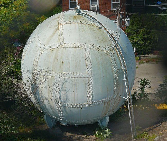 Steel Dome Homes: Horton Sphere Poughkeepsie Gas Surge Tank Pressure Vessel