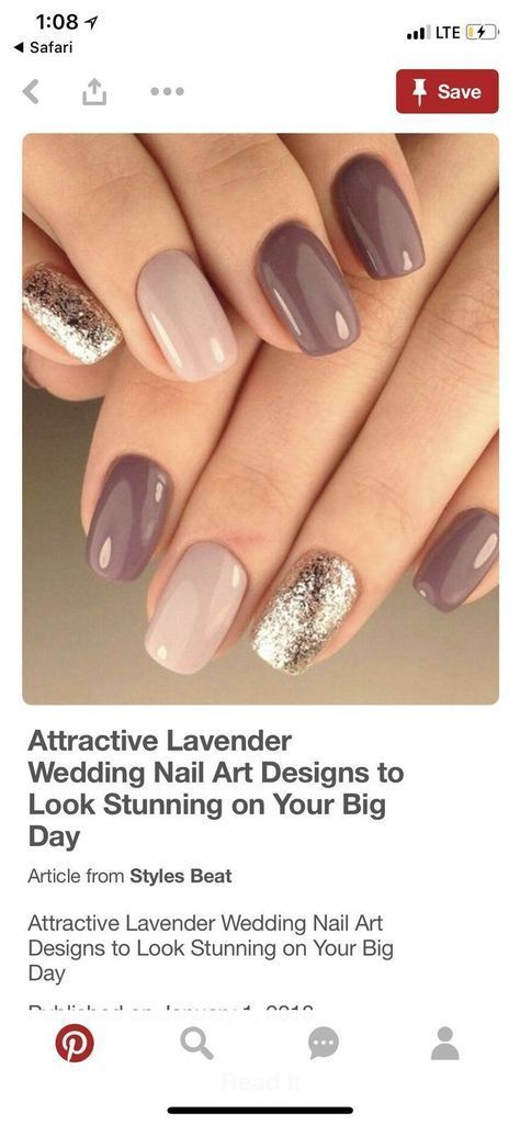 22+ ideas nails gel design glitter style for 2019