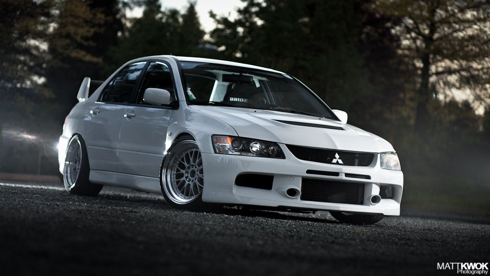pearl white mitsubishi lancer evo 8 my dream car