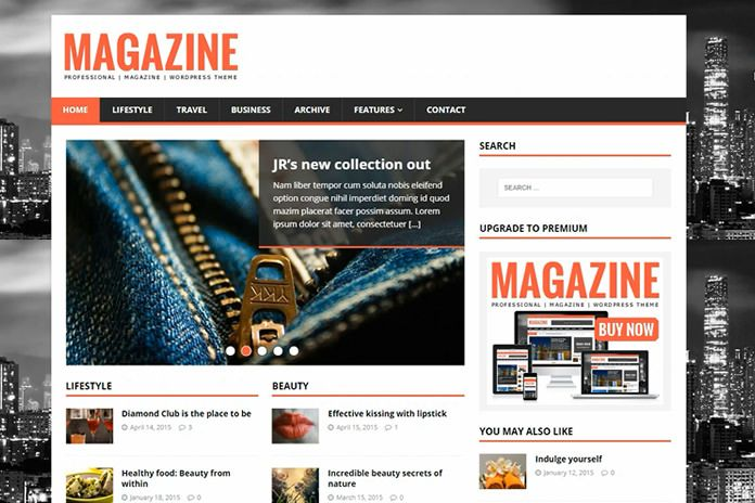 Tutorial cara edit tema Wordpress MH Magazine Lite agar tampilannya ...