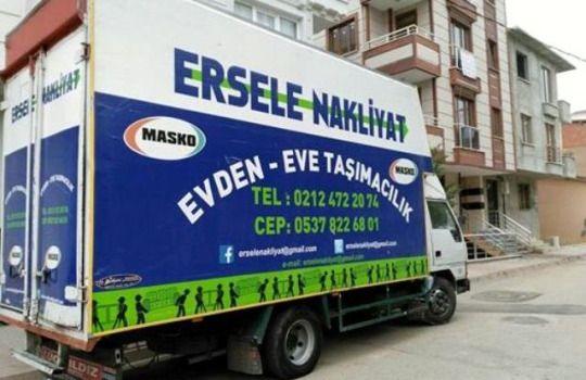 ERSELE NAKLİYAT EVDEN EVE TASIMACILIK 0537 822 68