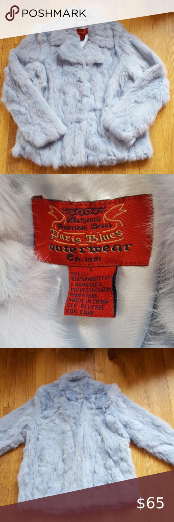 I Just Added This Listing On Poshmark Vintage Paris Blues Rabbit Fur Coat Shopmycloset Poshmark Fashion Fur Coat Vintage Denim Coat Jacket Blue Outerwear [ 1740 x 580 Pixel ]