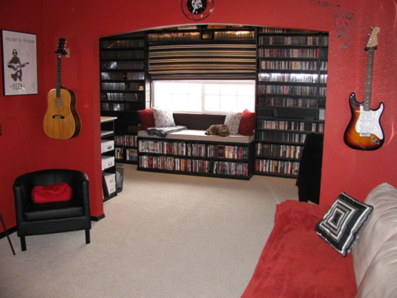 Guitar Decor For Bedroom Music Room Ideas Music Room Ideas Room Media Room