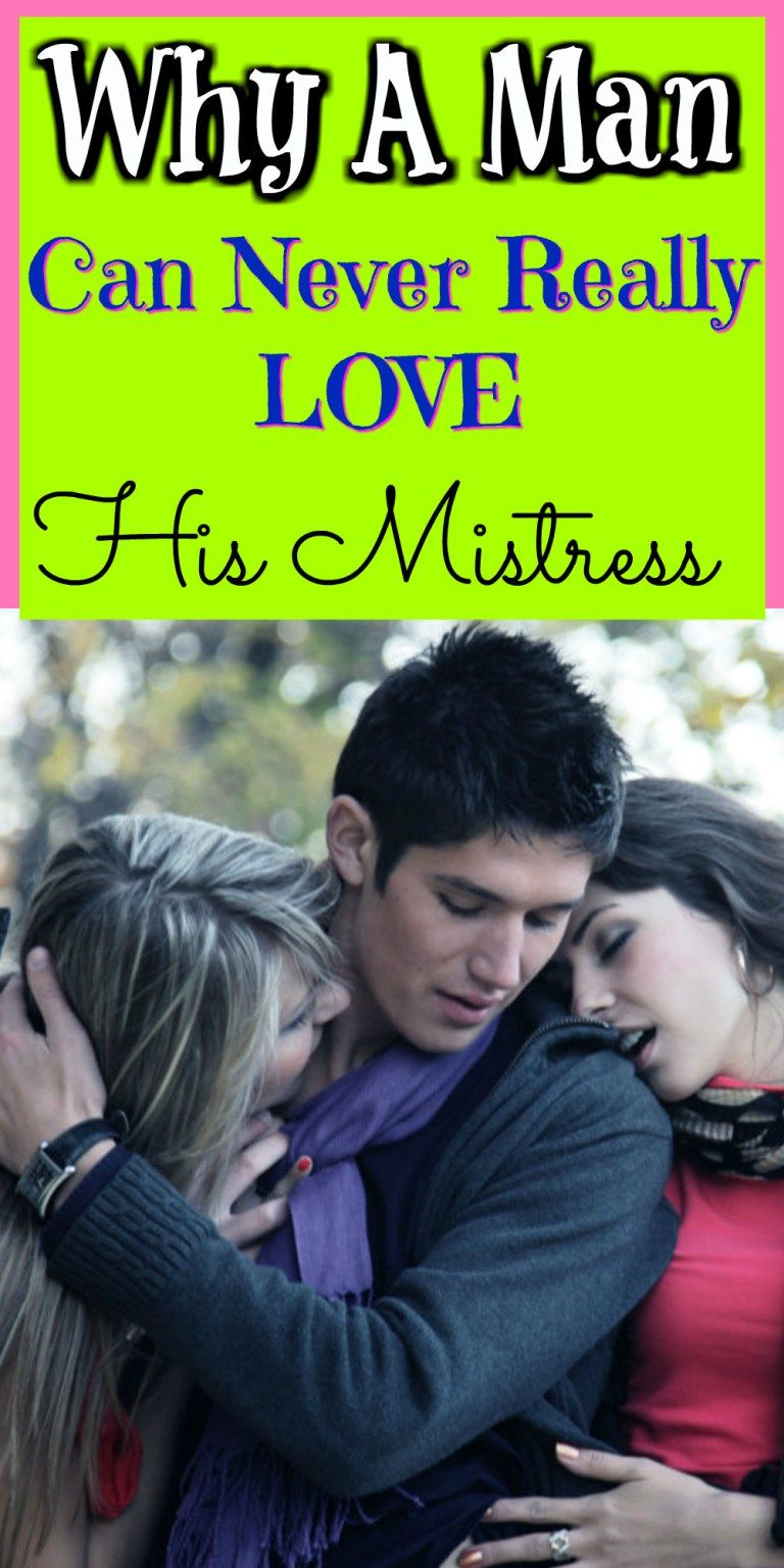 Can A Married Man Love His Mistress? | Dating a married