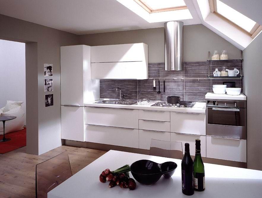 Whitel Matt Finish PU Lacquer Kitchen Cabinet