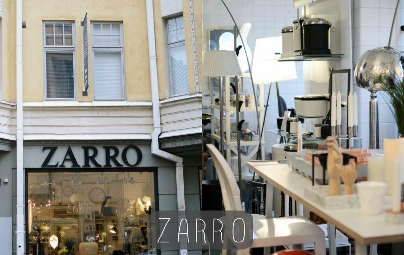 Zarro shop Helsinki, Places, Shopping