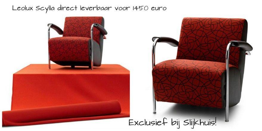 Fauteuil Scylla Cayenne van Leolux | Design stoelen | Design chairs ...