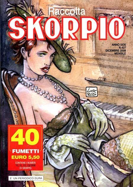 Fumetti EDITORIALE AUREA, Collana SKORPIO RACCOLTA n°427 Dicembre 2009