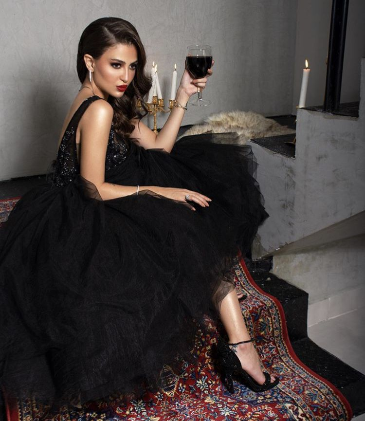Black Puffy Dress By Skytten Couture Celestia Collection Dresses Puffy Dresses Fashion