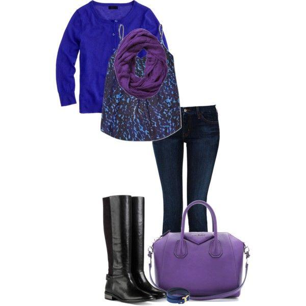 """""""Cobalt & Purple!"""" by jjanstover on Polyvore"""